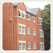 Sorrento special needs apartments for Moseley and district housing association - New build project